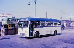 Dundas Street Bus Station, Glasgow on Sunday 6 June (pic Guy Arab UF) Buses And Trains, Bus Coach, Bus Station, Busses, Commercial Vehicle, Vintage Coach, Glasgow, Old Photos, Scotland