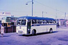 Dundas Street Bus Station, Glasgow on Sunday 6 June 1971. (pic Guy Arab UF)