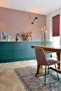 Cosy Kitchen, Stylish Kitchen, Home Decor Kitchen, Interior Design Kitchen, Interior Decorating, Room Inspiration, Interior Inspiration, Kitchen Colors, Home Fashion