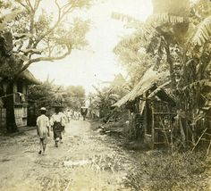 Philippines Bamboo near Manila old Griffith Stereo Photo 1900 Vintage Pictures, Old Pictures, Old Photos, Bamboo Village, Subic Bay, Filipino Culture, Bamboo Art, Filipiniana, History Facts