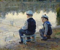 Vladimir Gusev (1957-): In His Childhood-Morning