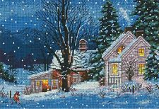 Dimensions Gold Collection Petites Christmas Cross Stitch Kit  Quiet night