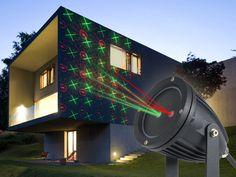 Laser-projektor Med Bevægeligt Mønster