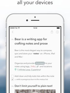 New upvoted product on Product Hunt: Bear