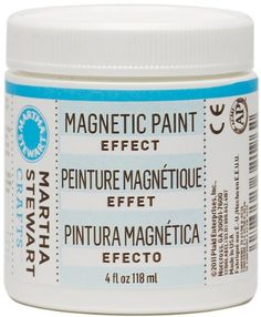 Martha Stewart 32196 4-Ounce Magnetic Paint