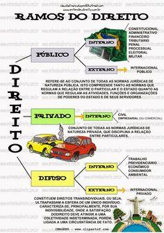 Ramos Do Direito - PúBlico, Privado E Difuso