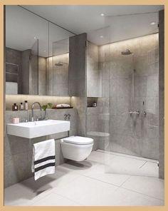 45+ Model Glass Bathroom floor In Your Inspiration | Modern Bathroom Small | Modern Bathroom Design | Modern Bathroom Designs For Small Spaces | Modern Small Bathroom Design. Get a brand-new way of decorating your bathroom with contemporary bathroom tiles ... #interior #bathroomdiy #Heimilið