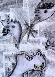 Collage inspired by Guernica Guernica, Pablo Picasso, Matisse, Dada Collage, Dada Art, Persecution, Art Projects, Project Ideas, Art Lessons