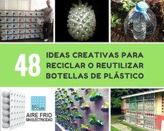 Cuando recopilaba ideas sobre cómo podemos reutilizar o reciclar botellas de plástico, no me esperaba encontrar tantas ideas sorprendentes y útiles.