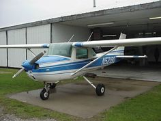 We just bought another plane...Cessna 150 (not this exact one, tho)