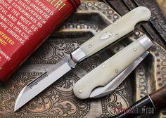 Northwoods Knives: Michigan Jack - Oiled White Camel Bone