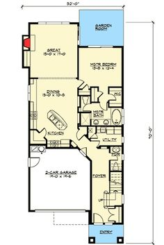 Narrow Lot Craftsman in Two Versions - 23275JD   1st Floor Master Suite, CAD Available, Craftsman, Den-Office-Library-Study, Jack & Jill Bath, Loft, Northwest, PDF, Photo Gallery   Architectural Designs