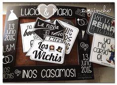 Letreros blanco y negro  www.taguinche.com
