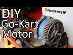 In this video I will be showing you how I converted this old alternator into a motor for my electric go kart. The only reason I chose this alternator is beca. Electric Go Kart, Electric Cars, Electric Vehicle, Karting, Go Kart Motor, Go Kart Parts, Homemade Go Kart, Diy Go Kart, Build A Go Kart