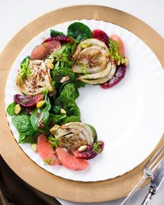 30 Gourmet Vegan Recipes For Fine Dining At Home - Eluxe Magazine weihnachtsessen Healthy Recipes, Gourmet Recipes, Salad Recipes, Vegetarian Recipes, Gourmet Salad, Gourmet Meals, Vegan Vegetarian, Vegan Dinner Party, Fancy Dinner Recipes