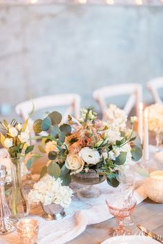 dreamy blush and rose wedding details