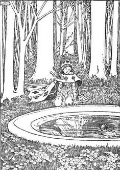 #14 By: Helen Stratton Grimm's Fairy Tales 1903