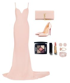 """""""Untitled #196"""" by thatgirlwholovesit on Polyvore featuring STELLA McCARTNEY, Christian Louboutin, Yves Saint Laurent, Christian Dior, Chanel and Swarovski"""