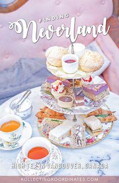 Peter Pan Themed Afternoon Tea - Neverland Tea Salon #vancouver #canada #foodie #afternoontea