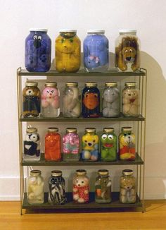 Creepiest Way To Store Your Toys (PICTURE) Kids have too many stuffed animals?Kids have too many stuffed animals? Jack Kirby, Stuffed Animals, Stuffed Toy, Art Jouet, Picture Fails, Toy Art, Baby Shower, To Infinity And Beyond, New Toys