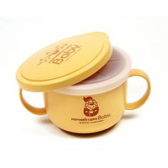 $17.95 Picnic Snack Cup Set - Mother's Corn  Eco-friendly, non-toxic(BPA free & no environmental hormones) snack cup made of corn starch is a perfect and safe choice for your kids and the environment. It is convenient and multi functional! Use it as a feeding or soup bowl, Mug for toddlers with two handles on both sides so babies and toddlers can easily hold the cup on their own or non-spill snack cup with the magic silicone lid preventing snacks from falling out.