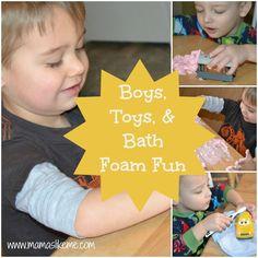 Mamas Like Me: Boys, Toys, and Bath Foam Fun