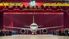 """O primeiro avião de passageiros """"made in China"""""""