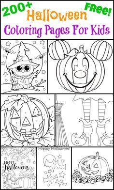 Activity sheets for kids, Halloween printable and Halloween fun on ...
