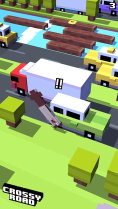 3 on #crossyroad. My top is 42.