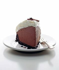 In my search for Mick's Chocolate Cream Pie I found this one from Forking Delicious Blog from Saveur