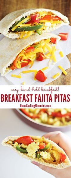 Easy Breakfast Fajit
