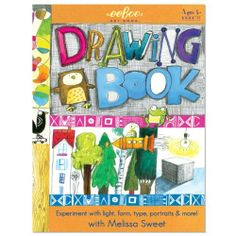 "Eeboo Drawing Book With Melissa Sweet by EEBOO. $7.36. Experiment with light, form, type, portraits & more!. Ages 5+. 32 pages. 8 1/2"" x 11 1/4"". Draw with Melissa Sweet!. This Eeboo Drawing Book from Melissa Sweet features fun drawing activities for kids age 5 and up."