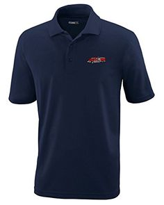 Fire Engine Truck Stile 2 Embroidery Polyester Performance Polo Shirt ** Learn more by visiting the image link. (This is an affiliate link) #PoloTShirt