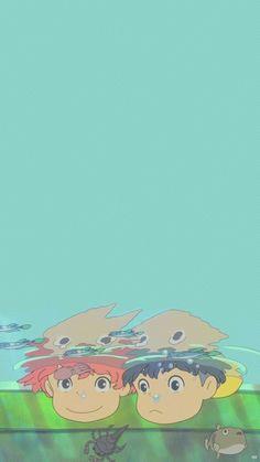 Sasuke and Ponyo