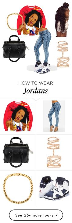 """Untitled #146"" by cassi-isabella on Polyvore featuring NIKE, Givenchy, Repossi, women's clothing, women's fashion, women, female, woman, misses and juniors"