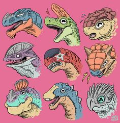 Exciting Learn To Draw Animals Ideas. Exquisite Learn To Draw Animals Ideas. Dinosaur Sketch, Dinosaur Drawing, Dinosaur Head, Cartoon Dinosaur, Animal Sketches, Animal Drawings, Drawing Animals, Dinosaur Images, Prehistoric Creatures