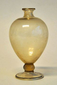 "Catawiki online auction house: Vittorio Zecchin for Venini Murano - Small vase ""Veronese"""