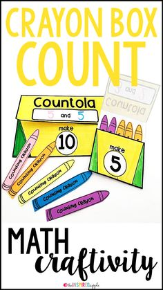 This math craft is perfect for using with students in pre-K, kindergarten, first grade, and second grade who are working on adding within twenty. It aligns with Common Core Standard CCSS.MATH.CONTENT.1.OA.C.5C and will fit into your math curriculum activi