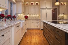 Off White Kitchen Design, Pictures, Remodel, Decor and Ideas