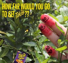Show us your #RedFingers and tell us how far you went for your Takis!!