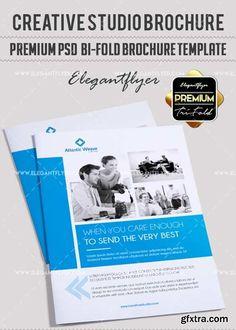 Photographer V Psd TriFold Psd Brochure Template  Gfxtra