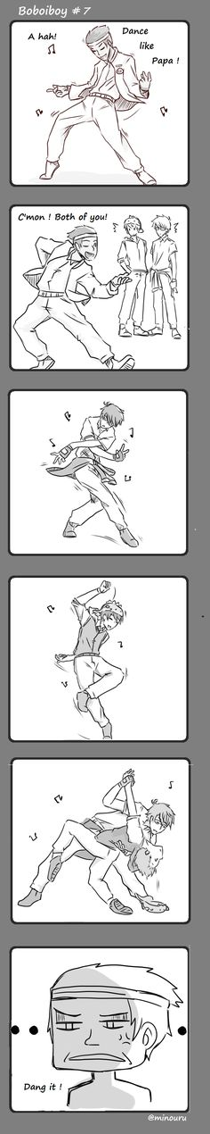Boboiboy #7 : Dance with me! by Minouru on DeviantArt