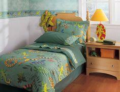 Little Lizards Twin Comforter/Sham/Sham Set RM02-LL by Room Magic