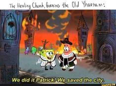 We did it saved the city. Bloodborne Concept Art, Bloodborne Art, Dark Blood, Old Blood, Stupid Memes, Funny Memes, Architecture Memes, Soul Game, Fandom Games