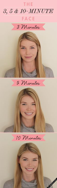 The 3-, 5-, and 10-Minute Face
