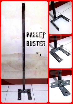 Pallet Buster *from second hand stuff Diy Projects To Build, Metal Projects, Diy Pallet Projects, Woodworking Projects, Pallet Tool, Pallet Crates, Wood Pallets, Pallet Breaker, Pallet Buster