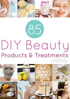 These DIY bath & beauty products and treatments aresuper quick and easy to whip upusingplenty of natural ingredients, and they will save you a TON of money! Click on the imagesbelow to find tutorials for each of these DIY products: An InLinkz Link-up You may also enjoyour other DIY bath & body product tutorials: