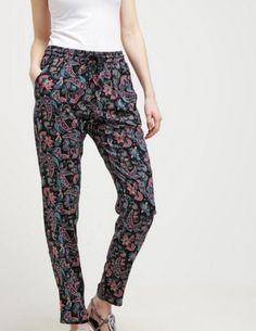 Even&Odd Spodnie materiałowe black