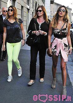 Belen Rodriguez con mamma Veronica e la sorella Cecilia: le foto…
