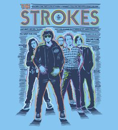 Reverbcity Shop - Camisetas/T-shirts The Strokes II - Is This It
